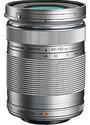 Olympus M.Zuiko Digital 40-150 mm 4-5.6 ED R 58  mm Filtergewinde (Olympus Micro Four Thirds) silber