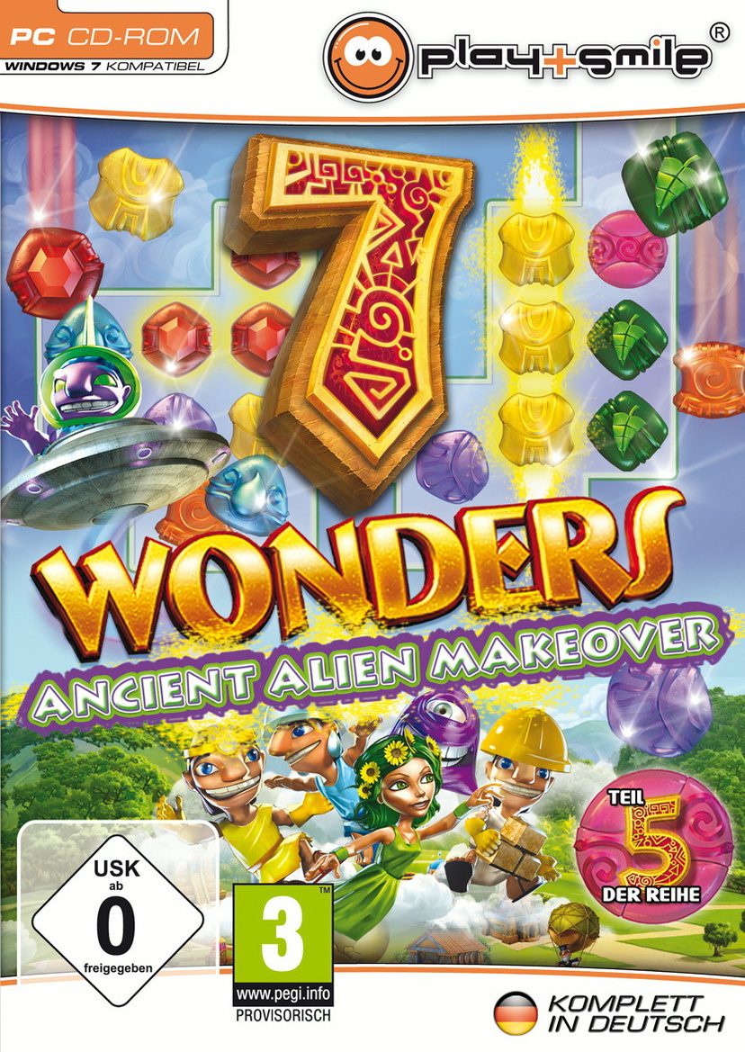 7 Wonders 5 - Ancient Alien Makeover Collector´s Edition [Play+Smile]
