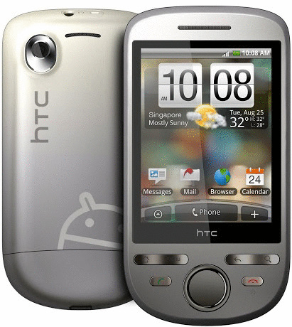 HTC Touch Tattoo silber