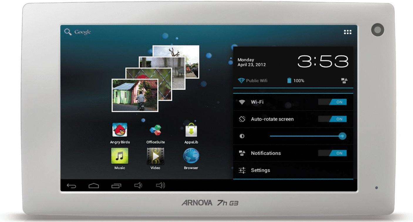 Archos Arnova 7h G3 7 4GB eMMC [Wi-Fi] weiß