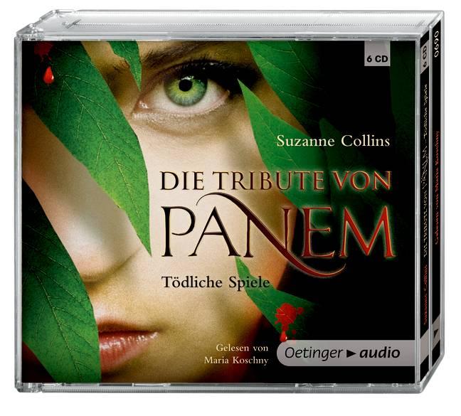 Die Tribute von Panem. Tödliche Spiele (6 CD): Gekürzte Audioversion, ca. 381 min - Collins, Suzanne