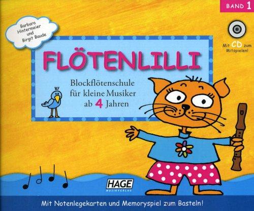 Flötenlilli - Blockflötenschule für kleine Musi...