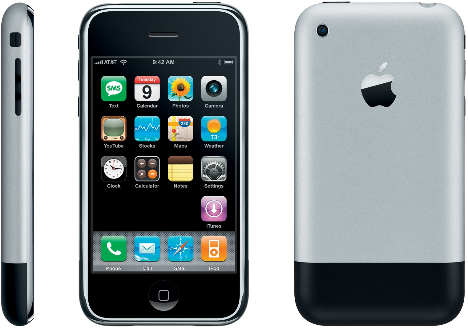 Apple iPhone 8GB schwarz