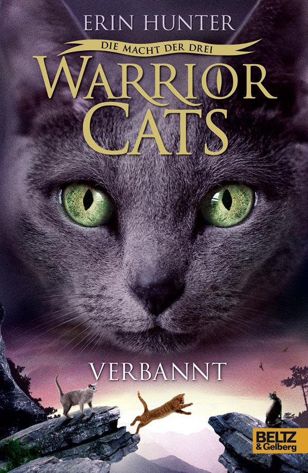Warrior Cats - Staffel III: Die Macht der drei - Band 3: Verbannt - Erin Hunter [Gebundene Ausgabe]