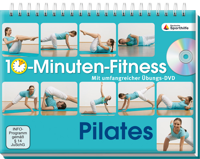 10-Minuten-Fitness Pilates: Mit unfamgreicher Ü...