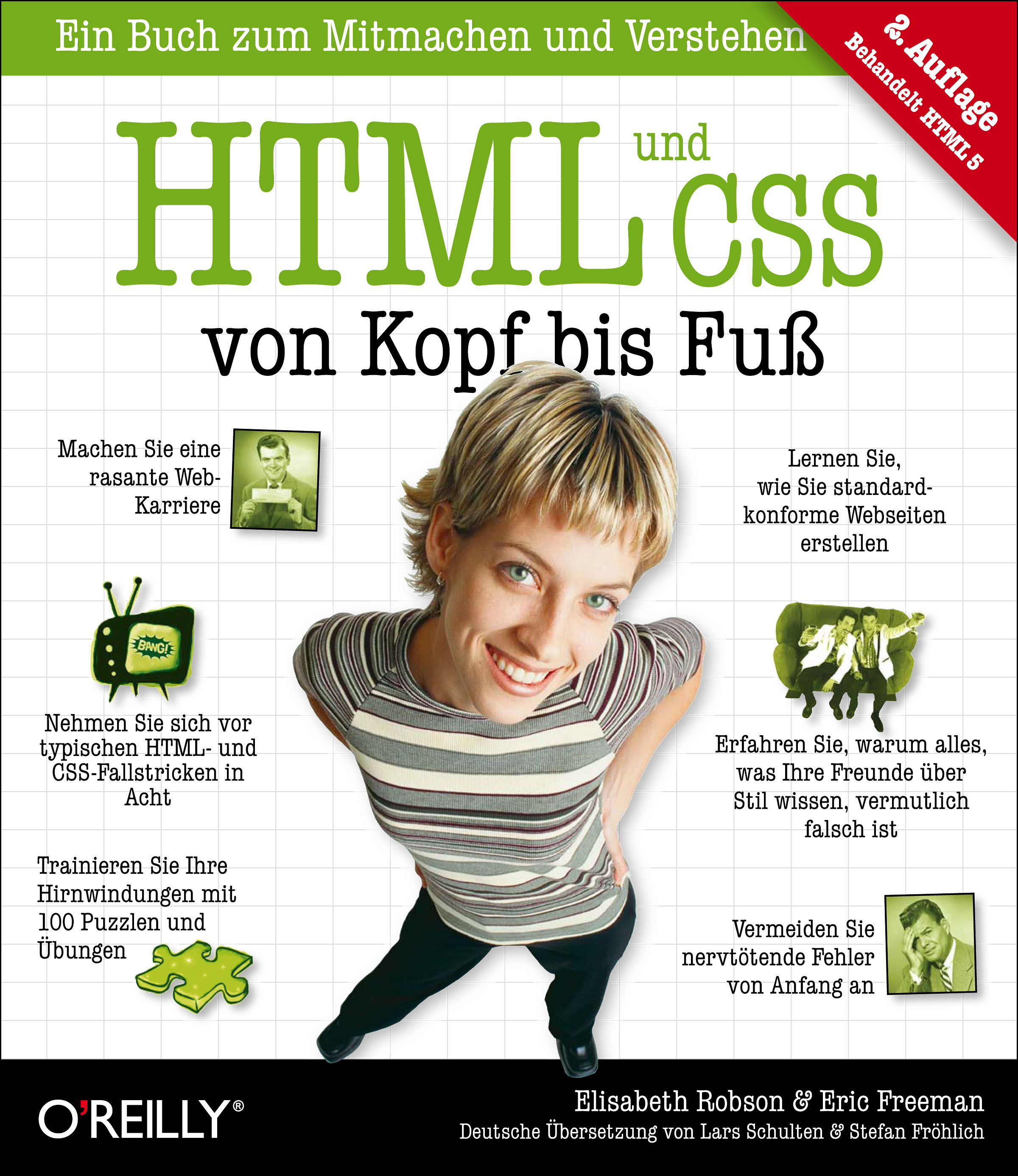 HTML und CSS von Kopf bis Fuß - Robson, Elisabeth