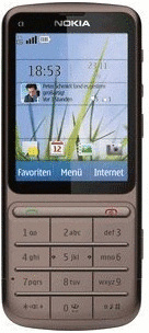 Nokia C3-01.5 Touch and Type copper brown