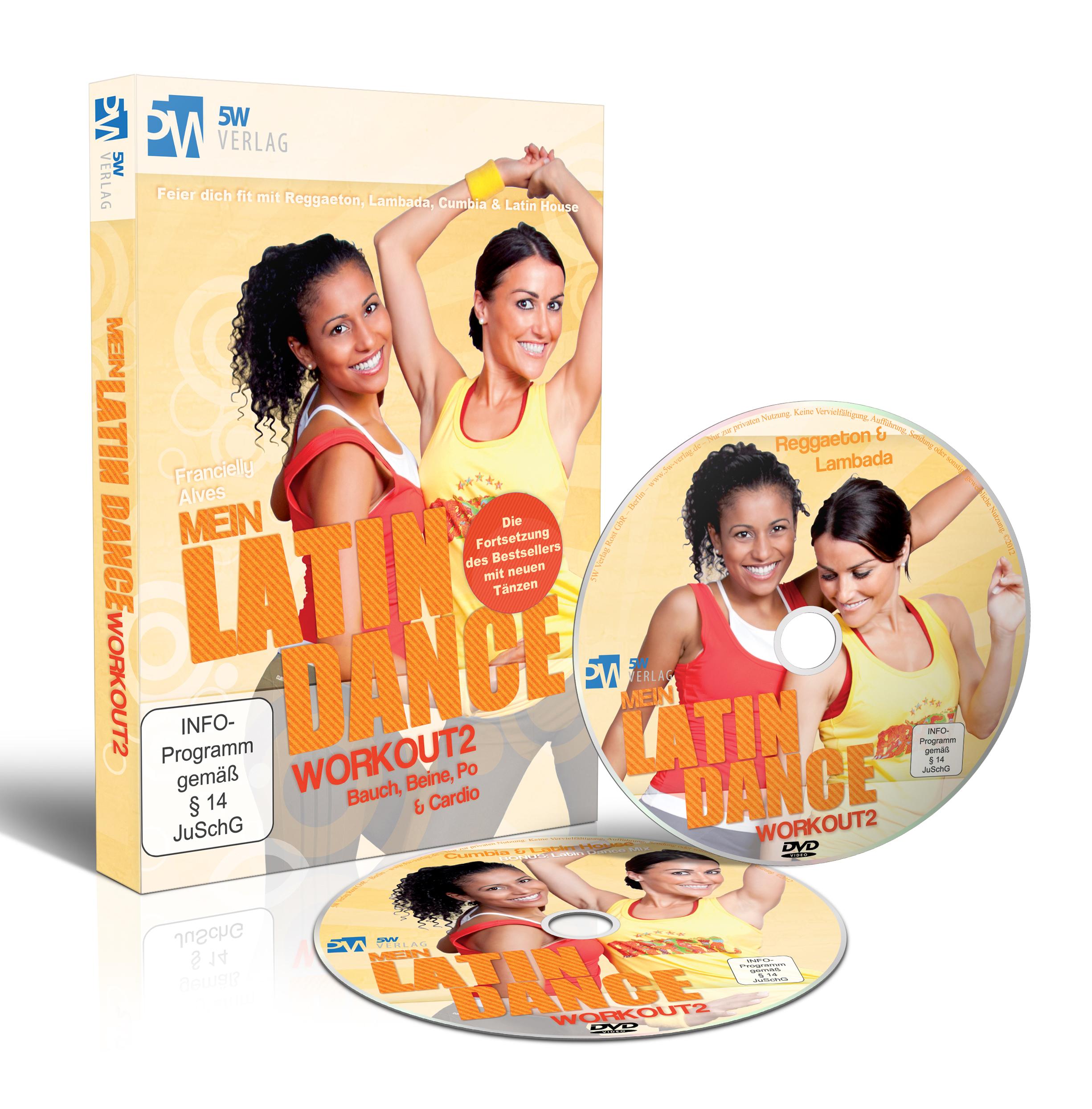 Mein Latin Dance Workout 2 - Bauch, Beine, Po &...