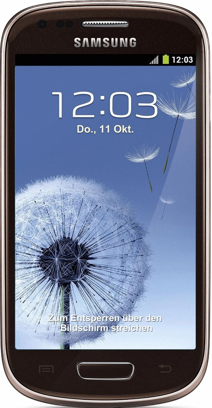 Samsung I8190 Galaxy S III mini 8GB bruin