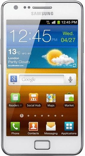 Samsung I9105P Galaxy S II Plus 8GB wit
