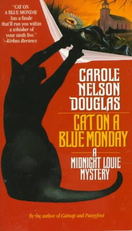 Cat on a Blue Monday (Midnight Louie Mysteries)...