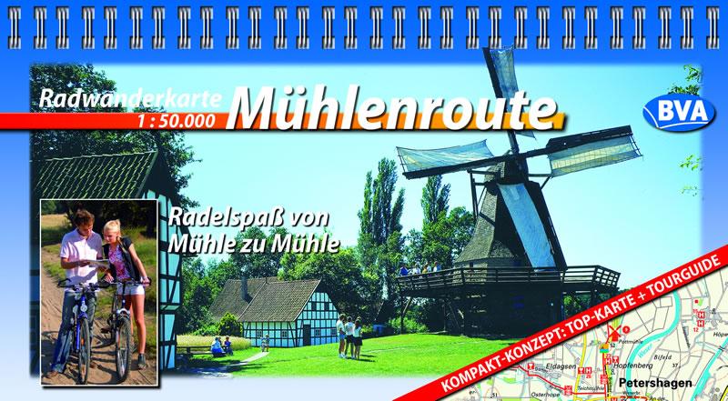 Kompaktspiralo Mühlenroute: Radelspaß von Mühle...