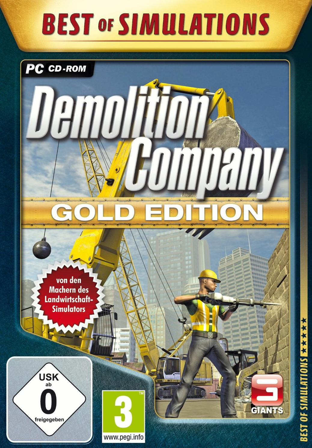 Best of Simulations: Demolition Company [Gold E...