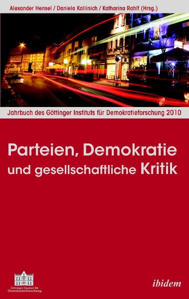 Parteien, Demokratie und gesellschaftliche Krit...