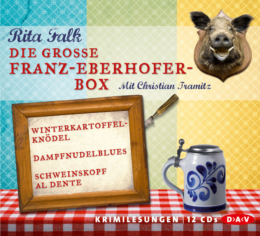 Die große Franz-Eberhofer-Box - Rita Falk [12 Audio CDs]