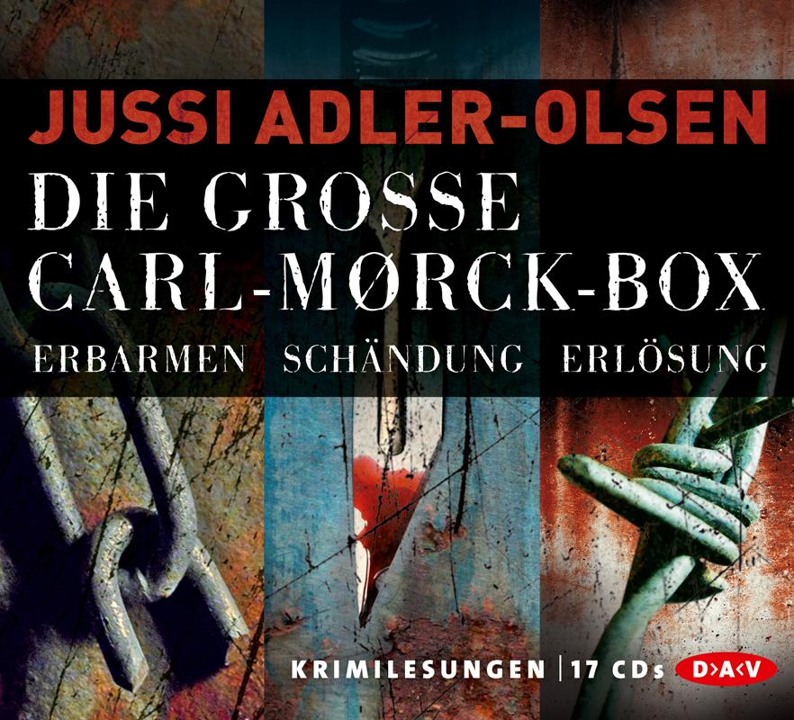 Die große Carl-Mørck-Box - Jussi Adler-Olsen [17 Audio CDs]