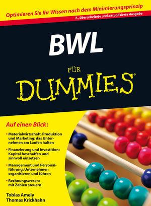 BWL für Dummies (Fur Dummies) - Amely, Tobias