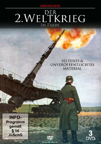 Der 2. Weltkrieg in Farbe [3 DVDs]