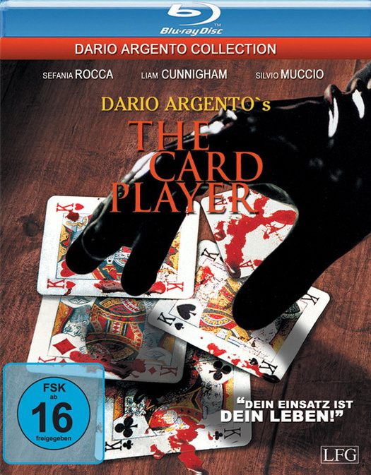 Dario Argento´s The Card Player [Dario Agento Collection, uncut]