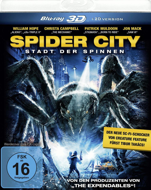 Spider City - Stadt der Spinnen [3D + 2D Version]