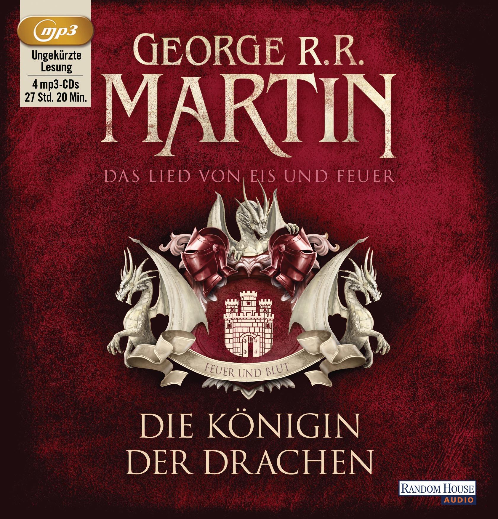 Das Lied von Eis und Feuer: Band 6 - Die Königin der Drachen - George R.R. Martin [4 mp3-CDs]