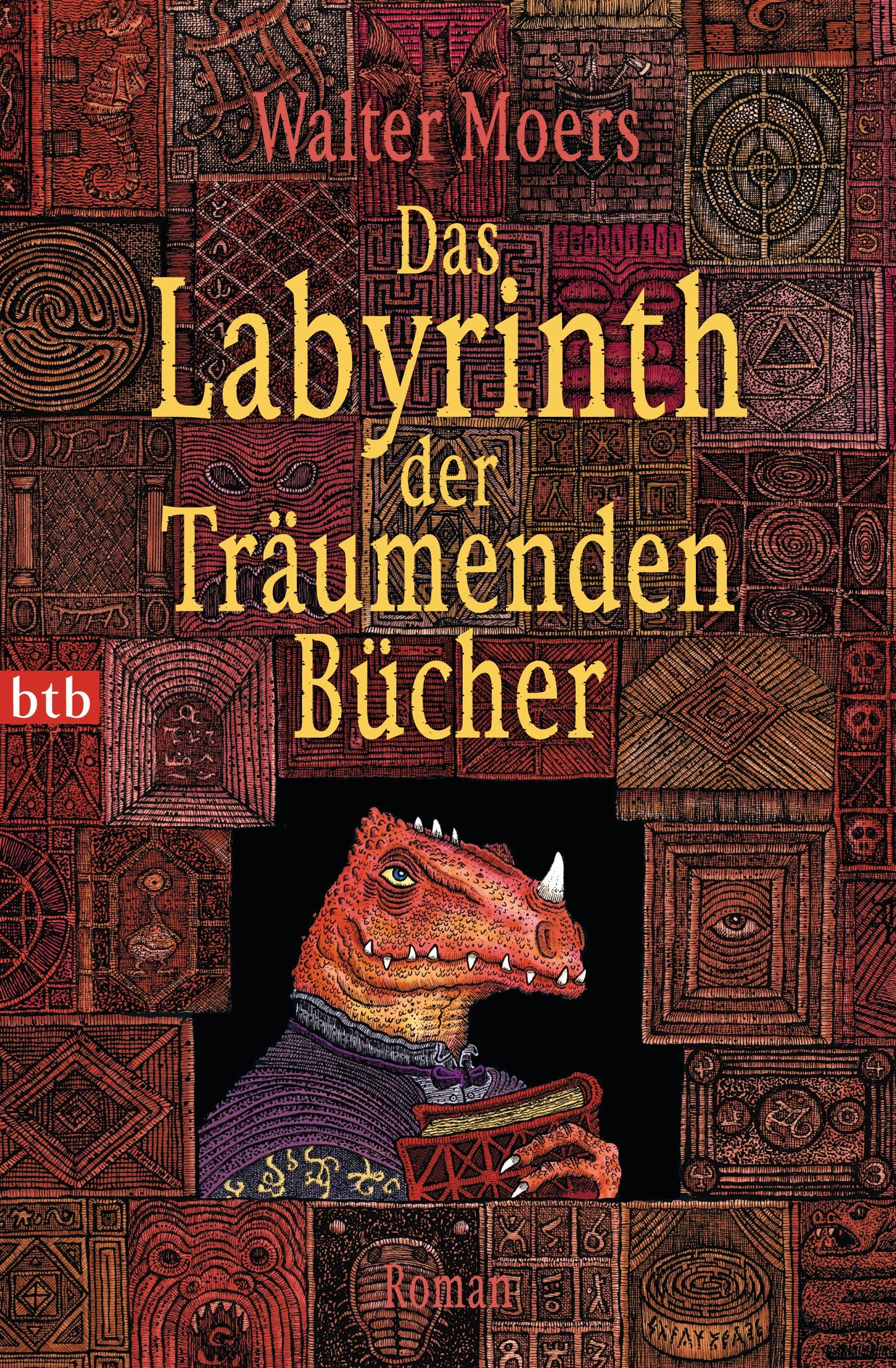 Das Labyrinth der Träumenden - Walter Moers [Taschenbuch]