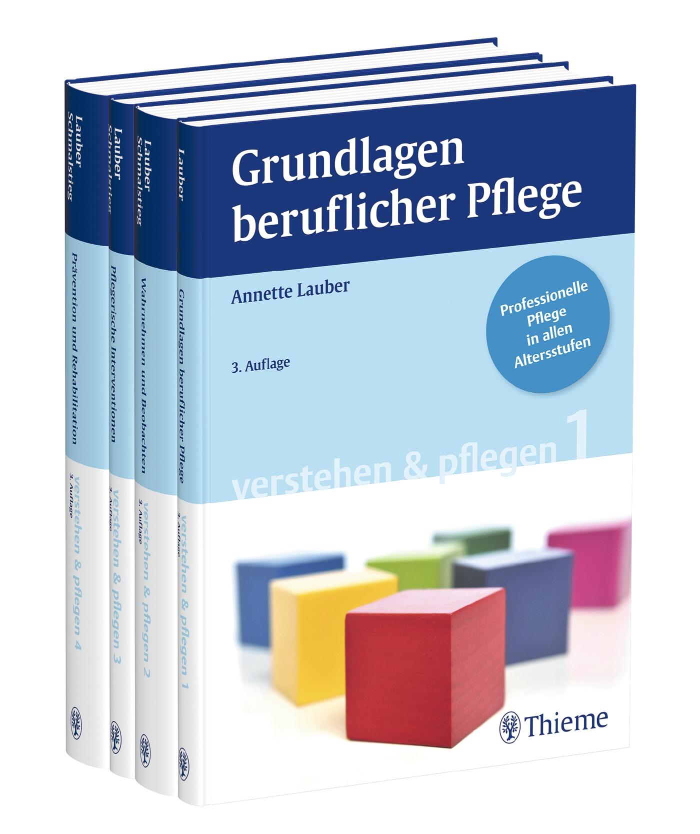 Lauber Pflege: Bände 1 - 4 - Annette Lauber [Broschiert, 3. Auflage 2012]