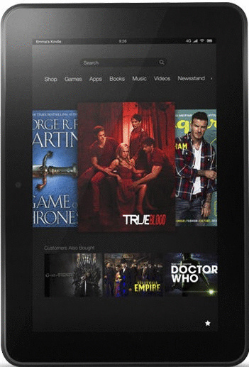 Amazon Kindle Fire HD 8.9 8,9 32GB [Wi-Fi] schwarz