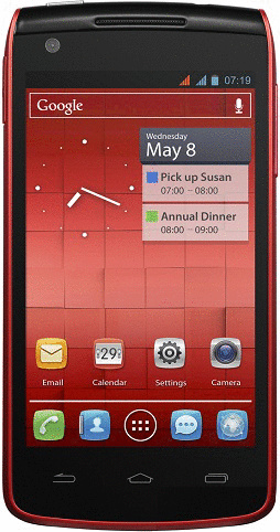 Alcatel 992D One Touch 4GB cherry red