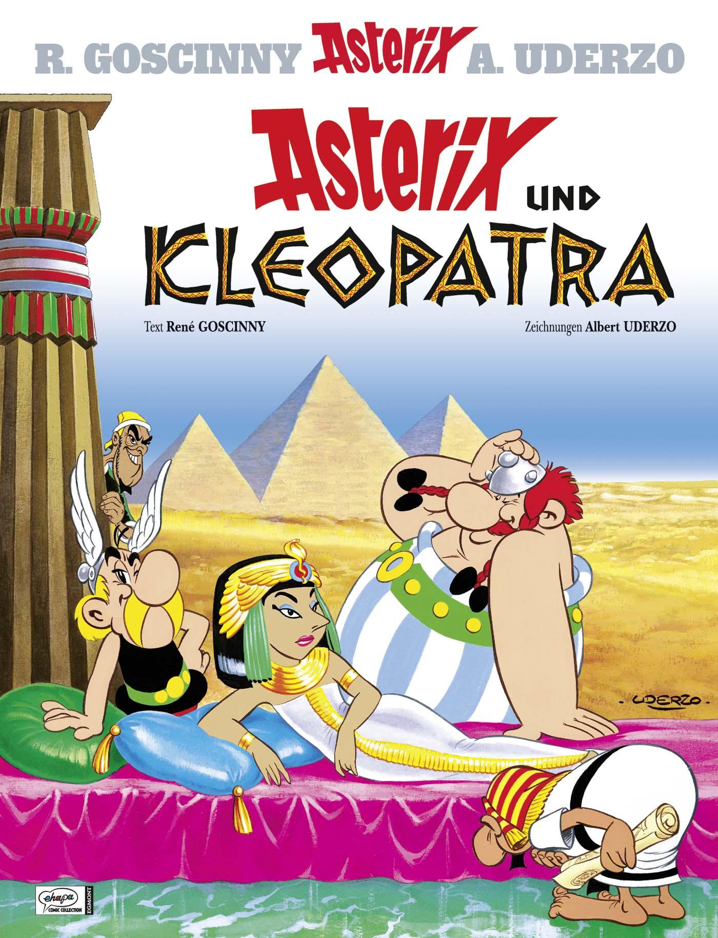 Asterix: Band 02 - Asterix und Kleopatra - R. Goscinny & A. Uderzo [Gebundene Ausgabe]