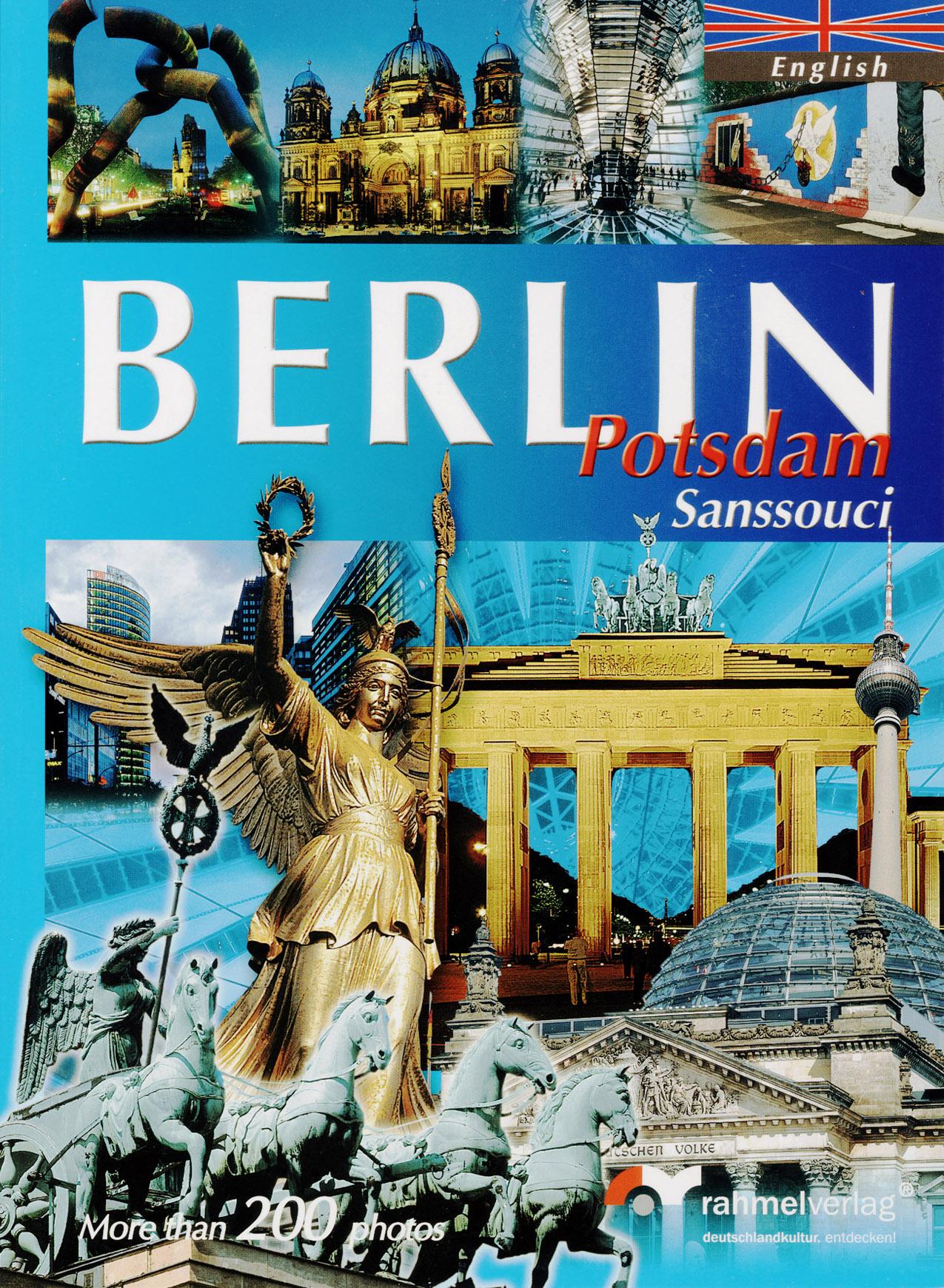 XXL-Book Berlin (englische Ausgabe) - Potsdam S...