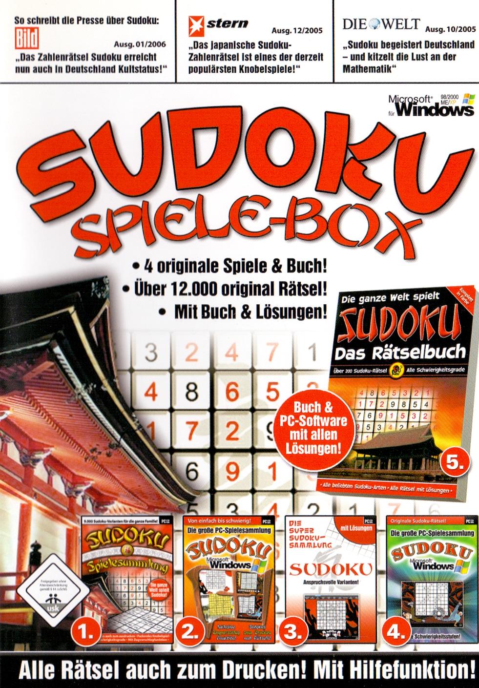 Sudoku - Spiele-Box