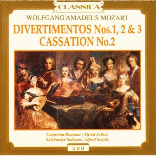 Camerata Romana - Divertimenti 1,2 & 3/Cassation