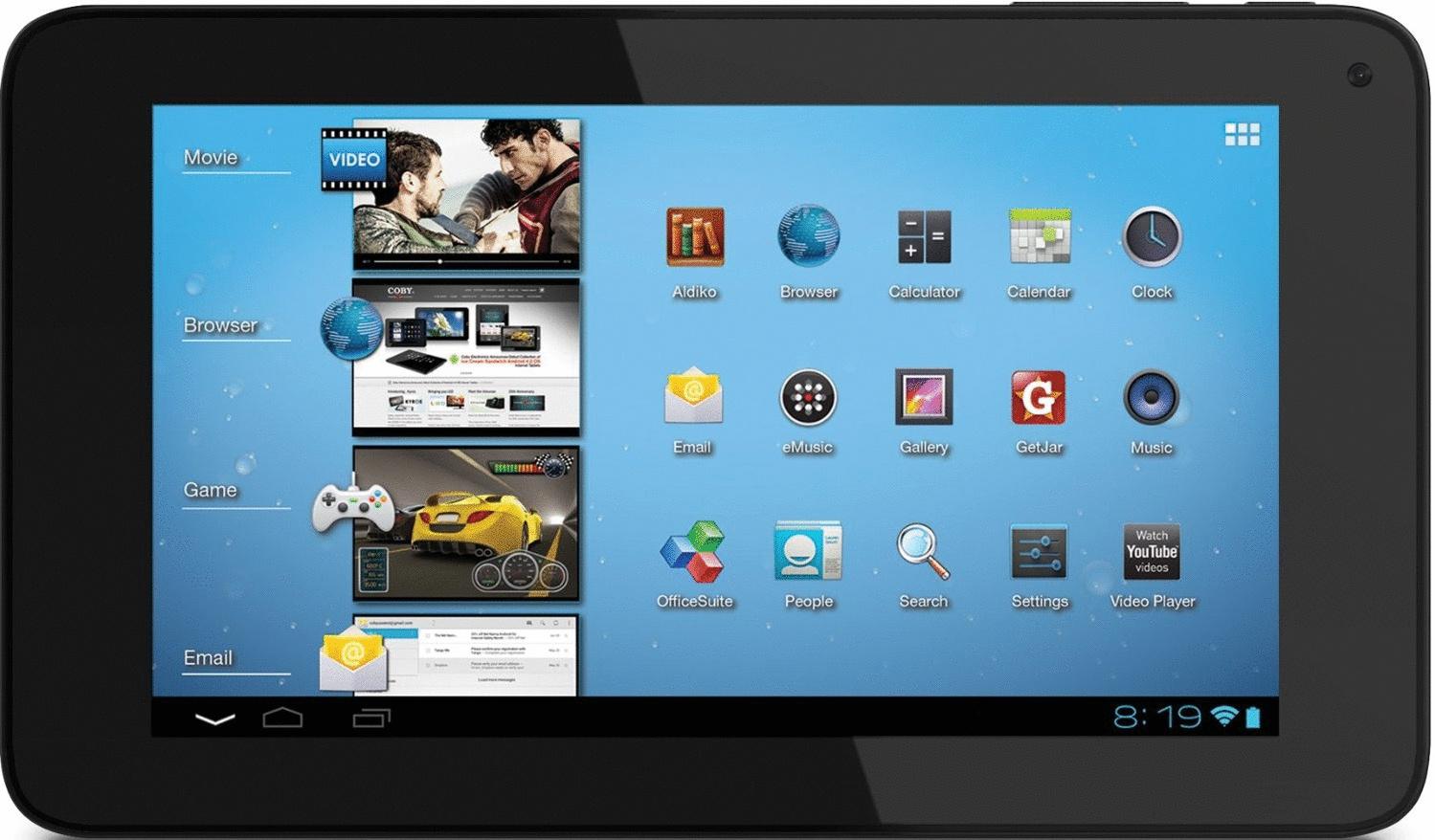Coby MID7060 Kyros 7 8GB [Wi-Fi + 3G] schwarz