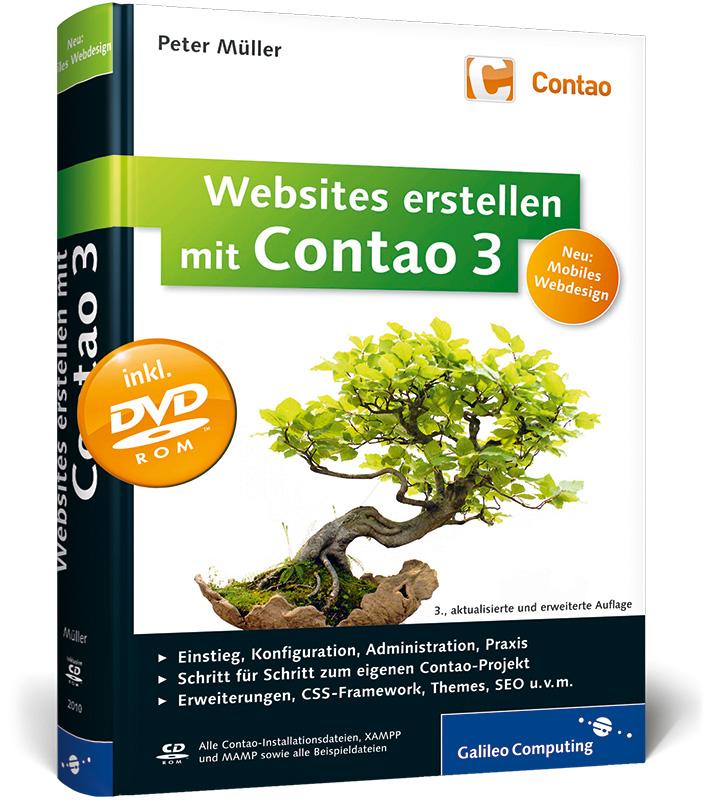 Websites erstellen mit Contao 3: Installation, ...