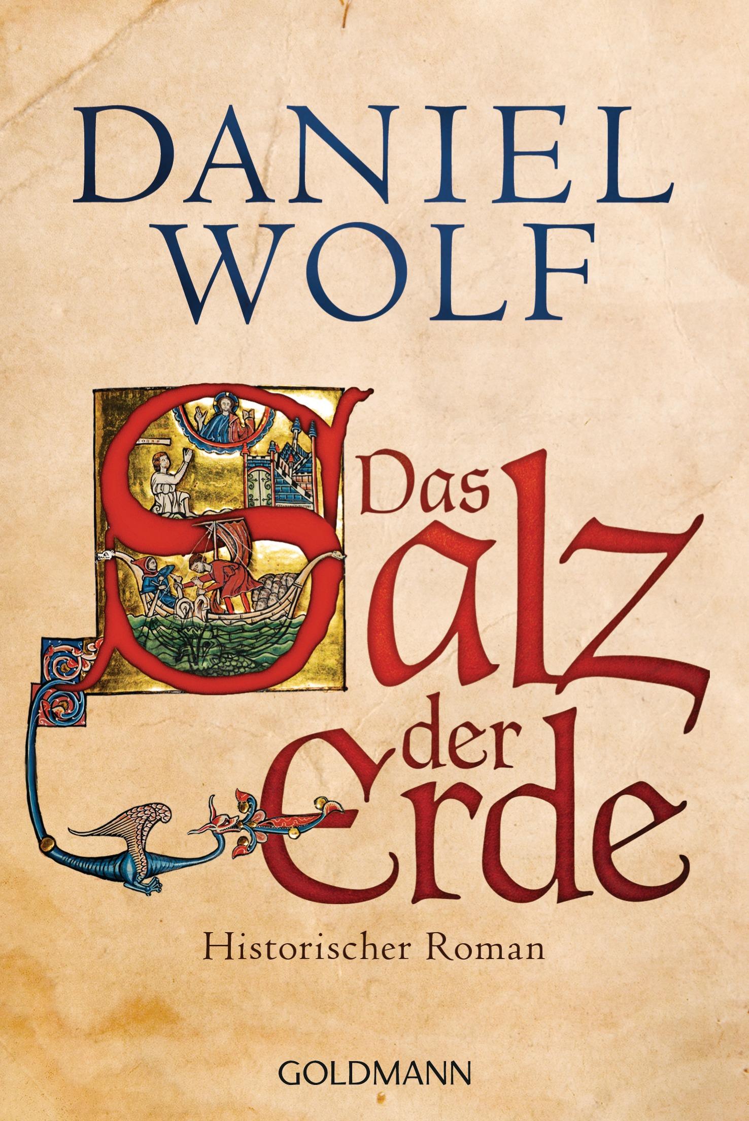 Das Salz der Erde - Daniel Wolf [Taschenbuch]