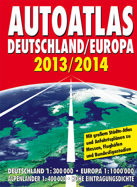 Autoatlas Deutschland/Europa 2013/2014