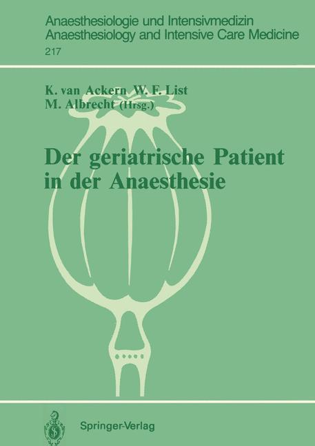Der Geriatrische Patient in der Anaesthesie (An...