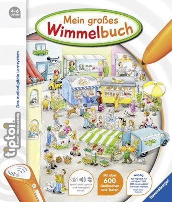 tiptoi® Bilderbuch: tiptoi® Mein großes Wimmelbuch - Friese, Inka
