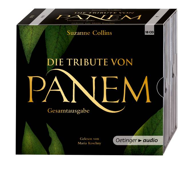 Die Tribute von Panem 1-3: Hörbuch-Gesamtausgabe - Suzanne Collins [18 Audio CDs; Gekürzte Lesungen]