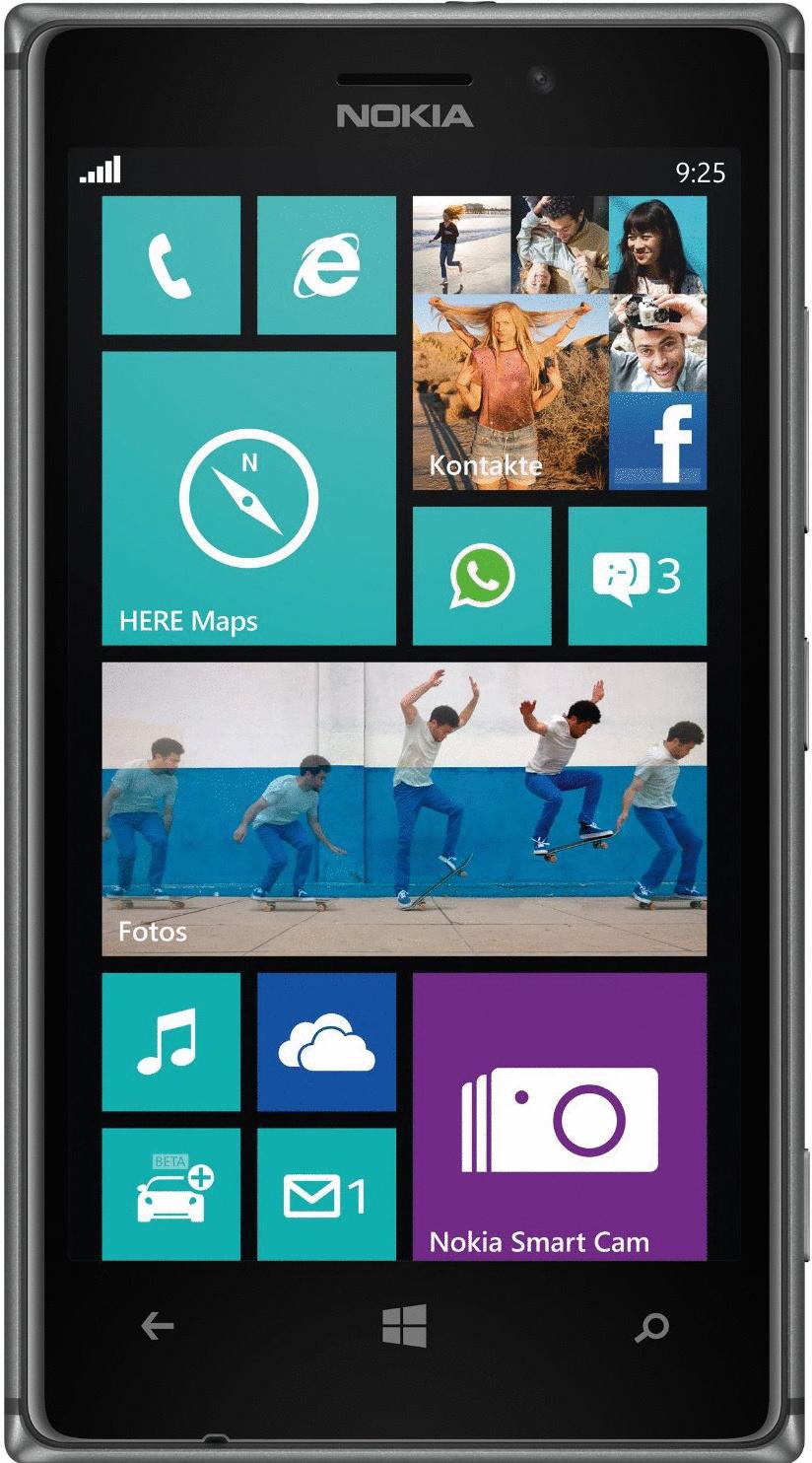 Nokia Lumia 925 16GB schwarz
