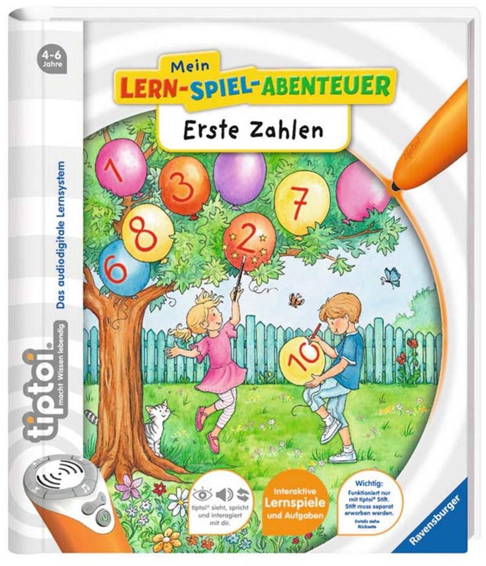 tiptoi® Lern-Spiel-Abenteuer: 1.Zahlen