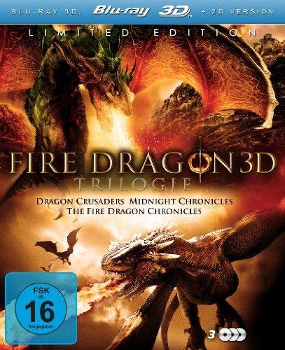 Fire Dragon 3D Trilogie [3D, Limited Edition]