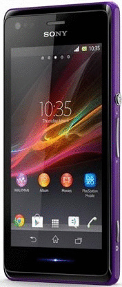 Sony Xperia M 4GB violett
