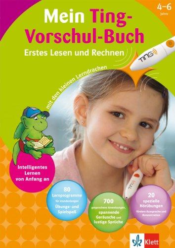 Mein Ting-Vorschul-Buch (4-6 Jahre): Erstes Les...