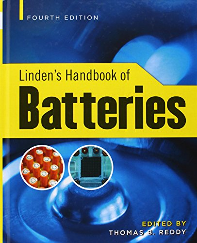 Linden´s Handbook of Batteries - Thomas Reddy [Hardcover, 4th Edition 2010]
