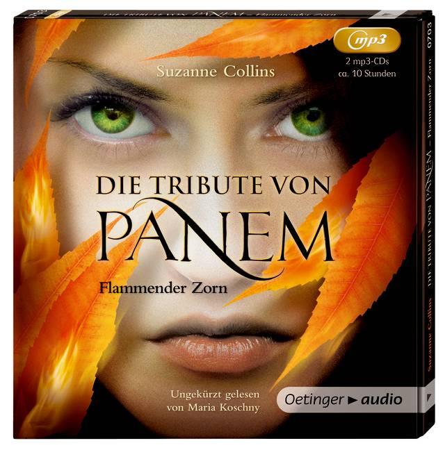 Die Tribute von Panem - Flammender Zorn, 2 MP3-...