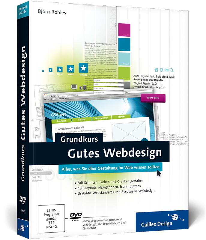 Grundkurs Gutes Webdesign: Alles, was Sie über ...