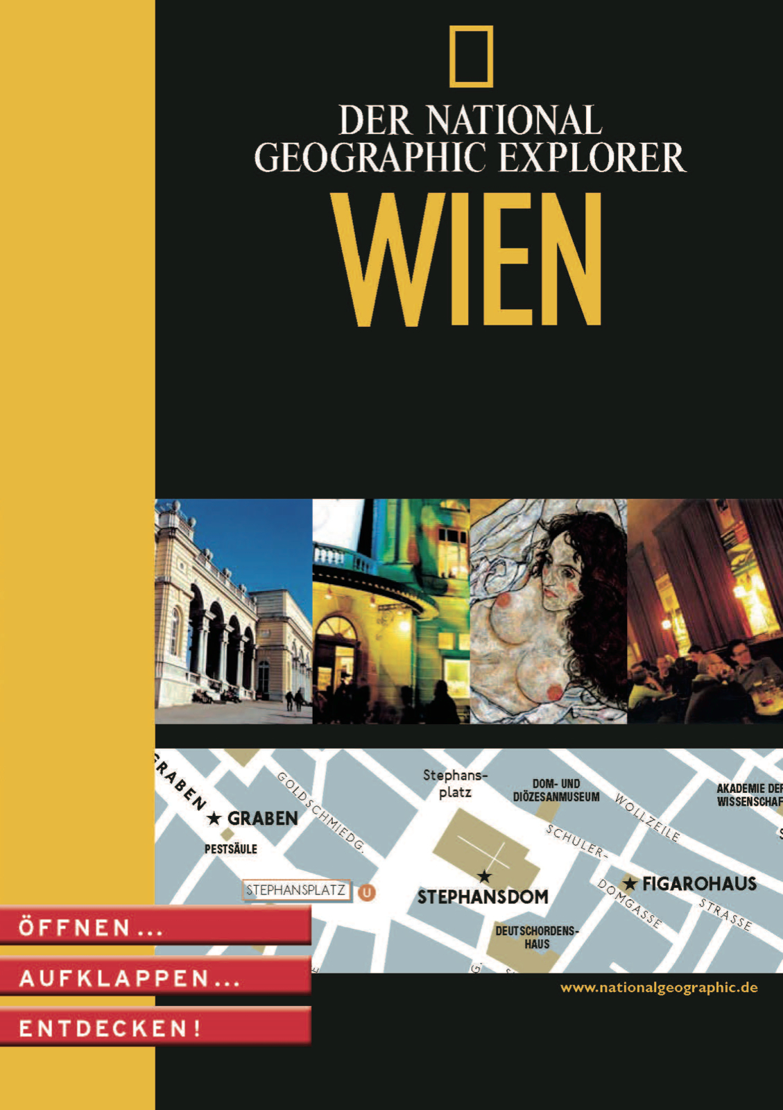 Wien: City-Atlas, Restaurants, Shopping, Kultur