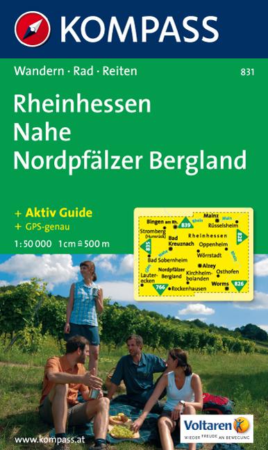Rheinhessen - Nahe - Nordpfälzer Bergland 1 : 5...